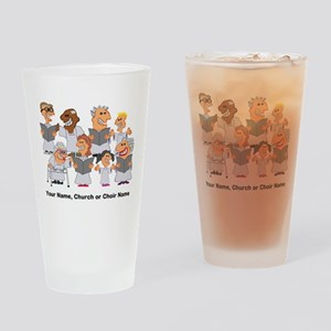 Funny Personalized Church Choir Drinking Glass
