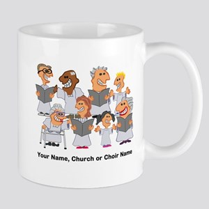 Funny Personalized Church Choir Mugs