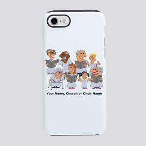 Funny Personalized Church Choir iPhone 7 Tough Cas