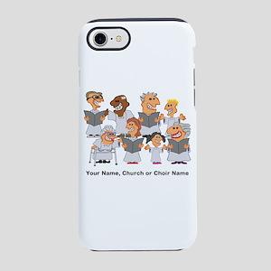 Funny Personalized Church Choir iPhone 7 Tough Cas