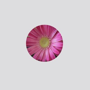 Pink Daisy Princess Mini Button