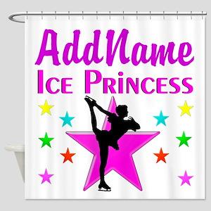 PURPLE ICE PRINCESS Shower Curtain