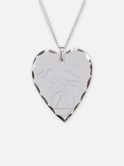 AA Phoenix White Necklace