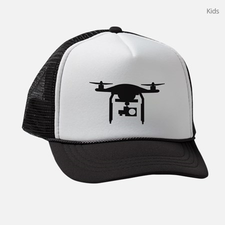 Drone Kids Trucker Hat