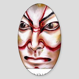 Kabuki No. One Sticker (Oval)