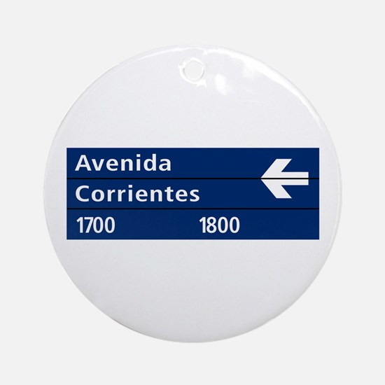 Avenida Corrientes, Buenos Aires (AR) Ornament (