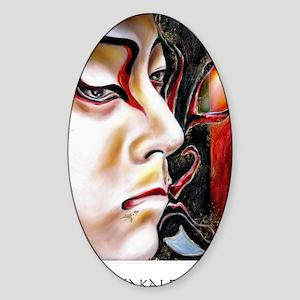 Kabuki No. Three Sticker (Oval)