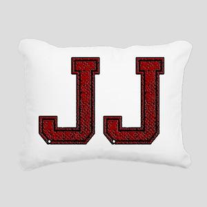 JJ, Vintage Rectangular Canvas Pillow