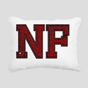 NF, Vintage Rectangular Canvas Pillow