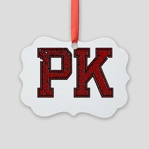 PK, Vintage Picture Ornament