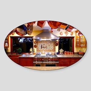 KitchOut Kitchen Sticker (Oval)