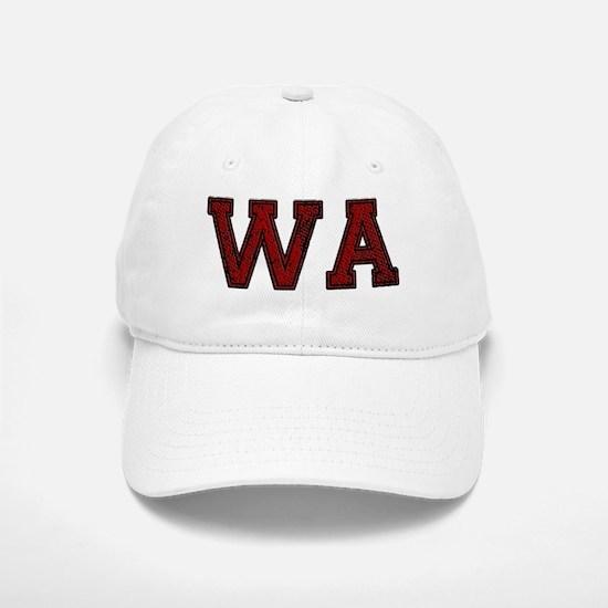 WA, Vintage Baseball Baseball Cap