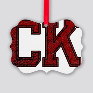 CK, Vintage Picture Ornament