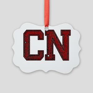 CN, Vintage Picture Ornament