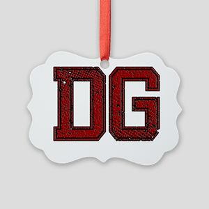 DG, Vintage Picture Ornament