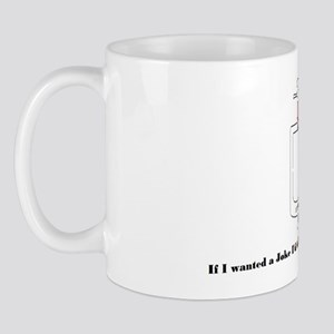 Funny urinal shirt Mug