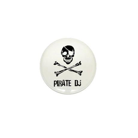 Pirate DJ Mini Button (10 pack)