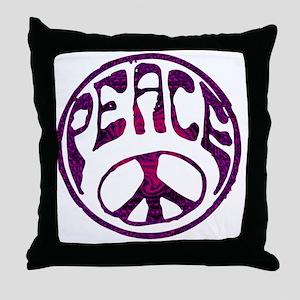 deep peace Throw Pillow