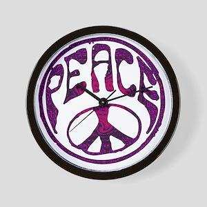 deep peace Wall Clock