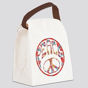 smooth peace Canvas Lunch Bag