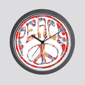 smooth peace Wall Clock