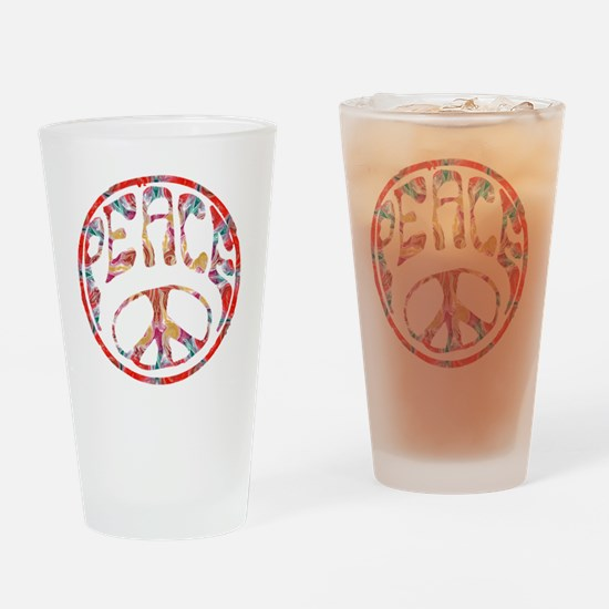 smooth peace Drinking Glass
