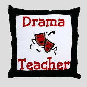 Drama Teacher Throw Pillow