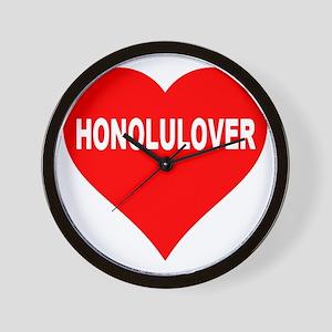 HONOLULOVER Wall Clock