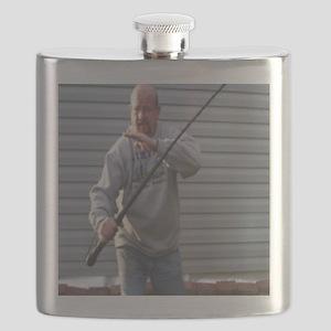 Sjambok Front Cover Flask