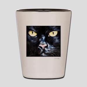 I am Night Shot Glass