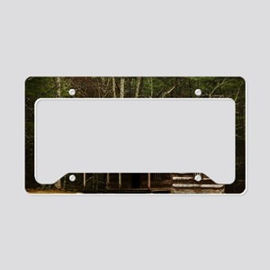 Cabin License Plate Holder
