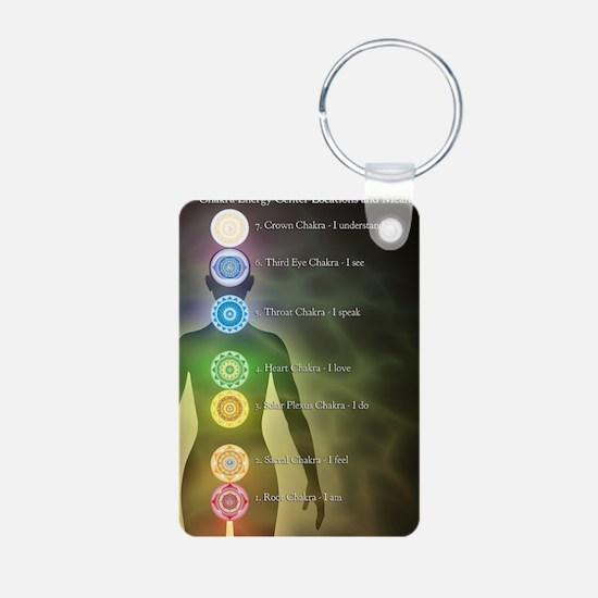 Chakra Energy Centers Keychains