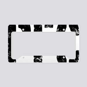 Private First Class PFC License Plate Holder