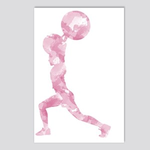 Watercolor Lift in Pink Postcards (Package of 8)