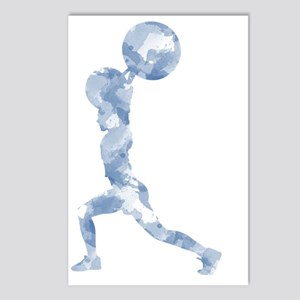 Watercolor Lift in Blue Postcards (Package of 8)