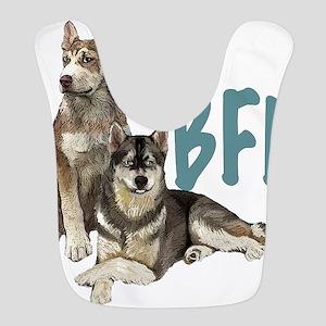 Siberian Husky BFF Bib
