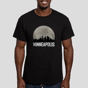 Minneapolis Full Moon Skyline T-Shirt