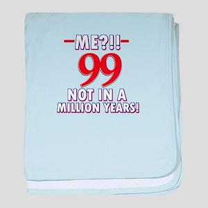 99 years already??!! baby blanket