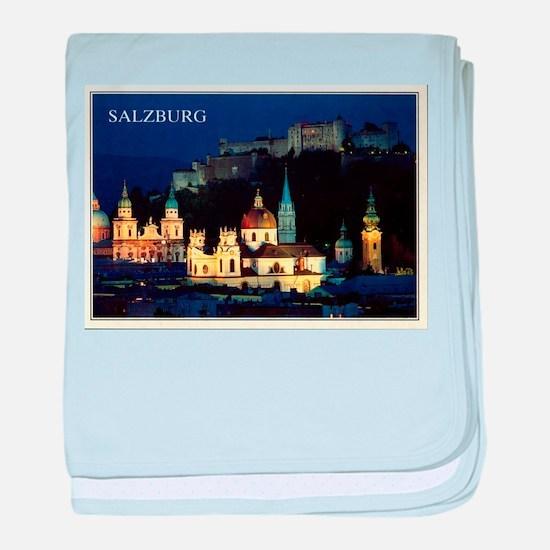 Salzburg baby blanket