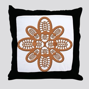 Hiker Boots Cypress Original Throw Pillow