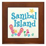 Sanibel Island - Framed Tile