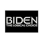 Logical Biden Rectangle Magnet (100 pack)