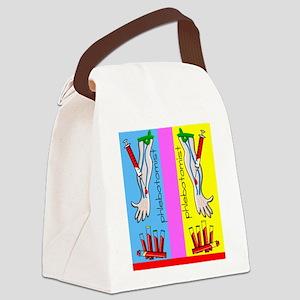 ff phlebotomist Canvas Lunch Bag