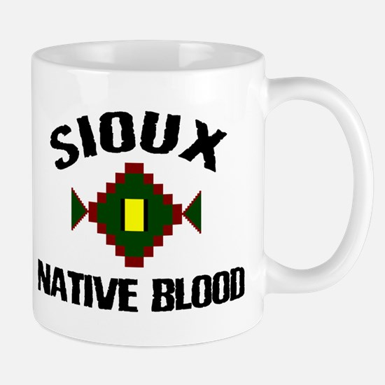 Sioux Native Blood Mug