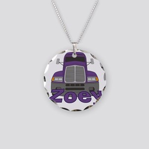 zoey-g-trucker Necklace Circle Charm