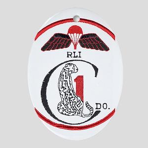 Rhodesia 1st Commandos Ornament (Oval)