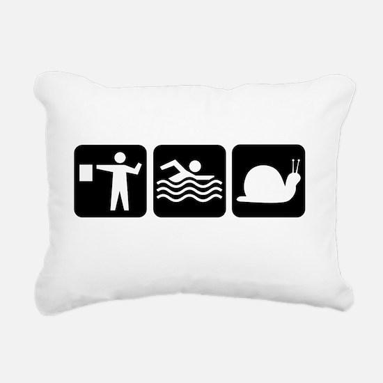 Hazards tshirt BLK Rectangular Canvas Pillow