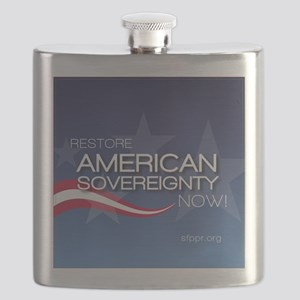 restore american sov small Flask
