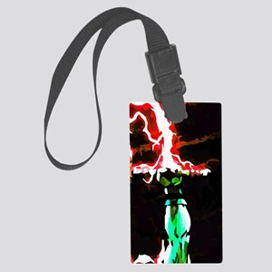 Occupy Asgard (Red Thunder) Large Luggage Tag