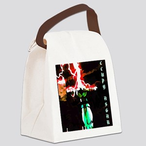 Occupy Asgard (Red Thunder) Canvas Lunch Bag